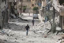 Devastazioni ad Aleppo