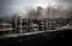 Bombe su Aleppo