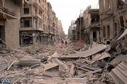 Aleppo devastata