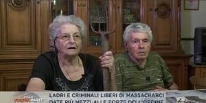 """Rosina Fracasso col forcone in tv: """"Renzi dia soldi ai poliziotti non ai migranti"""""""