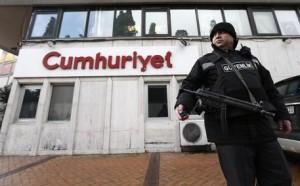 """Fnsi contro gli arresti dei giornalisti in Turchia: """"Solidarietà a Cumhuriyet"""""""