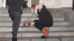 Berlino, attrice Anne Kulbatzki aggredita da uno stalker col coltello FOTO