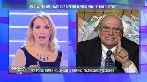 Barbara D'Urso e Giancarlo Cito: lite in diretta sul caso vitalizi a Domenica Live