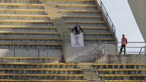 A Bari un solo tifoso della Pro Vercelli