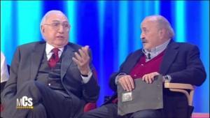 Guarda la versione ingrandita di Rtv, parata i big nell tv di San Marino: Pippo Baudo, Costanzo...