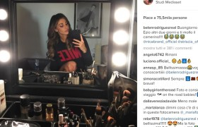 "Striscia la Notizia, Belen su Instagram: ""VIDEO dello stacco censurato"""