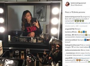 """Striscia la Notizia, Belen su Instagram: """"VIDEO dello stacco censurato"""""""