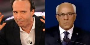 Referendum: Crozza contro Benigni. Il silenzio di Totò e Sordi
