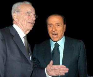 Guarda la versione ingrandita di Berlusconi a New York tratta con Murdoch la vendita di Mediaset