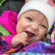 La bimba con la lingua extra large è tornata a sorridere02