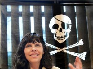 Birgitta Jonsdottir, leader del partito dei Pirati islandese