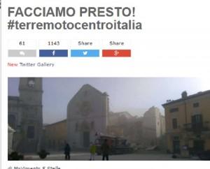 Guarda la versione ingrandita di Beppe Grillo a Renzi: