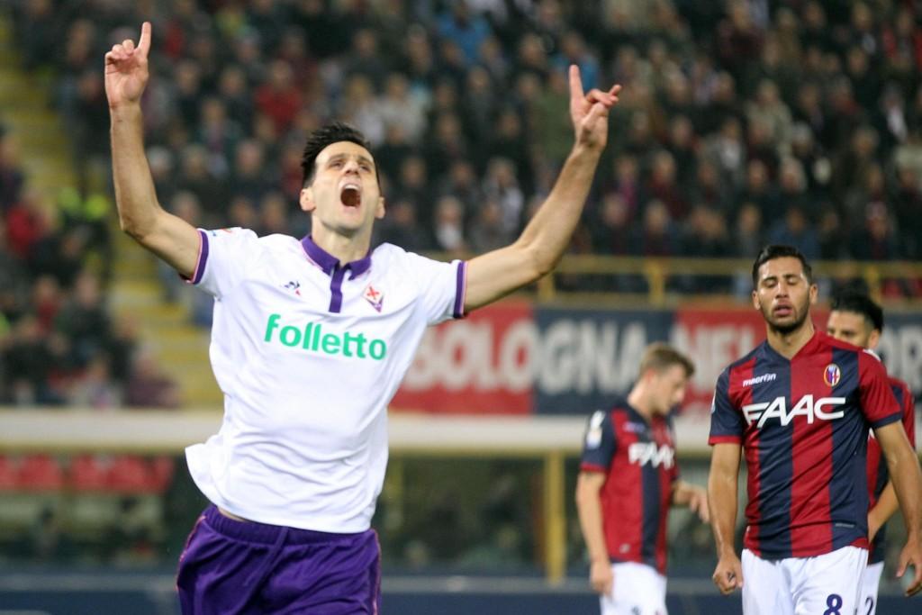 Bologna-Fiorentina nelle foto Ansa
