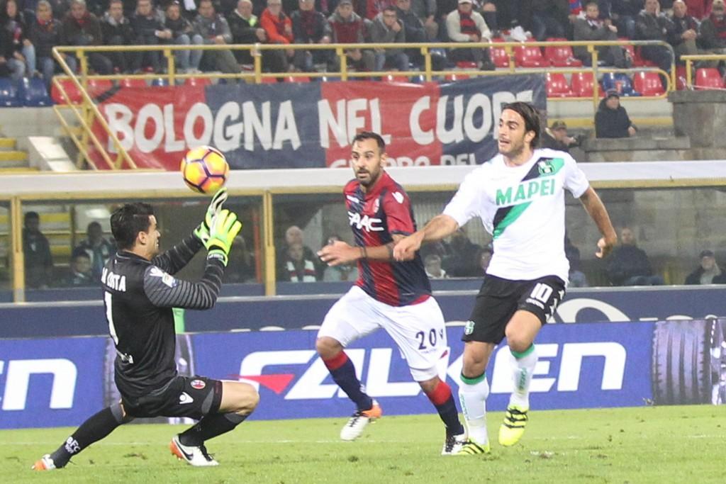 Bologna - Sassuolo 1-1 (foto Ansa)