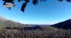YOUTUBE Terremoto sorprende cacciatori su Monte Vettore: panico