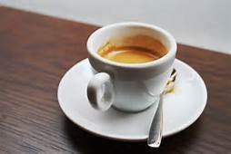 Un caffè espresso