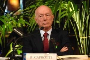 """Il funerale di Bernardino Caprotti: """"Il mio loculo è il II° a sinistra, appena sotto i miei nonni"""""""