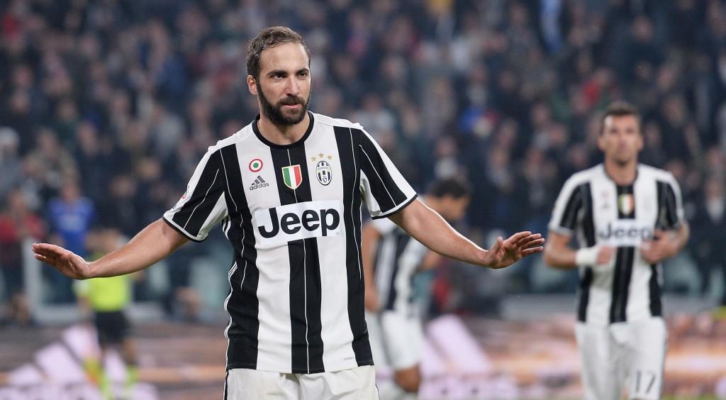 Gonzalo Higuain video gol Juventus-Napoli 2-1: non esulta