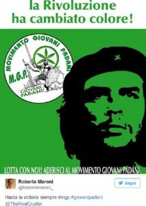 """""""Hasta la victoria siempre"""", Roberto Maroni ruba il motto a Che Guevara e Twitter lo insulta"""