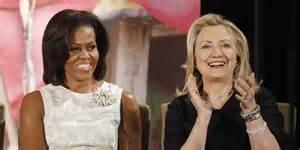 Michelle e Hillary