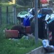 Roma, cinghiale tra i rifiuti a Monte Mario2