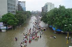 Inondazioni in India