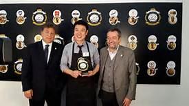 La premiazione di Park Dae Hoon