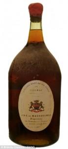 Cognac Massougnes del 1801: bottiglia venduta a 248mila euro FOTO