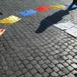 Colombia flash mob piazza del Popolo5