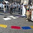 Colombia flash mob piazza del Popolo11