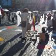 Colombia flash mob piazza del Popolo12