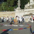 Colombia flash mob piazza del Popolo13