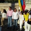 Colombia flash mob piazza del Popolo15