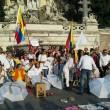 Colombia flash mob piazza del Popolo6