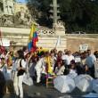Colombia flash mob piazza del Popolo17