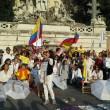 Colombia flash mob piazza del Popolo18