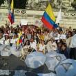 Colombia flash mob piazza del Popolo19