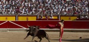 """Bimbo malato di cancro va alla corrida. Animalista: """"Che muoia subito"""""""