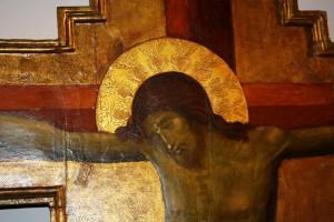 Guarda la versione ingrandita di Carinaro: pachistano distrugge crocifisso in chiesa a sprangate (foto Ansa)