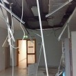 Maltempo Lecce, crolla soffitto in ospedale: tre feriti 3