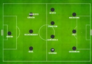 Cruyff, il suo Top 11: con Maradona e Pelè anche Guardiola