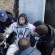 Kate Rubins, astronauta Iss torna sulla Terra e chiama casa FOTO