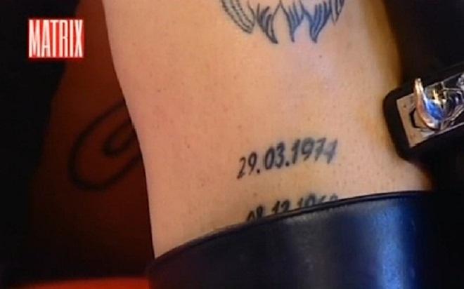 """Geraldine Darù mostra tatuaggio con data di nascita di Corona: """"Non l'ho incastrato io""""03"""