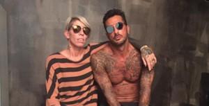 """Guarda la versione ingrandita di Geraldine Darù mostra tatuaggio con data di nascita di Corona: """"Non l'ho incastrato io"""""""