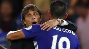 Antonio Conte e Diego Costa: lite in casa Chelsea