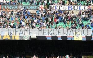 """Inter-Torino, Curva Nord annuncia la contestazione: """"Bonus finiti"""""""