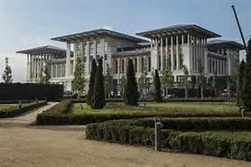 Il palazzo di Erdogan