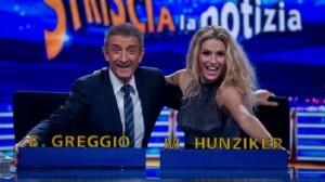 Ezio Greggio torna con Michelle Hunziker: Striscia la Notizia, Belen addio