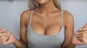 YOUTUBE come aumentare il seno di 3 taglie con il makeup