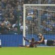 Mattia Perin video rigore parato a Quagliarella in Sampdoria-Genoa